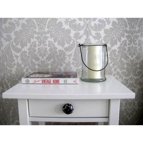 Lampion, świecznik szklany Home