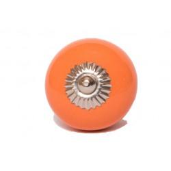 Pomarańczowa gałka meblowa
