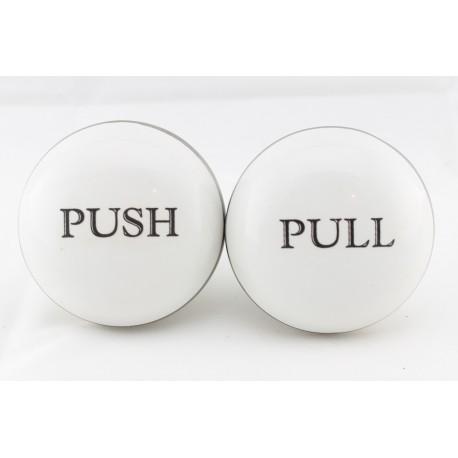 Porcelanowa gałka do PUSH/PULL