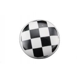 Uchwyt do biało-czarna szachownica