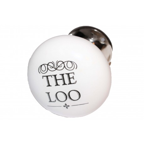 Porcelanowa gałka do toalety The Loo