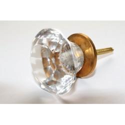 Gałki w formie kryształu ze złotym