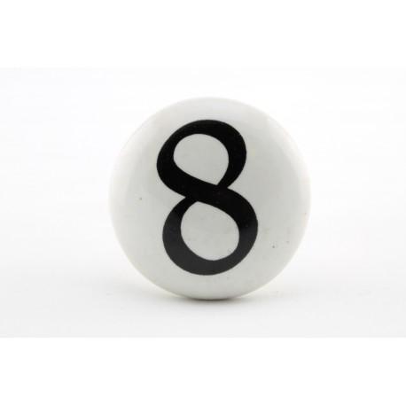 Uchwyt do mebli z cyfrą 8